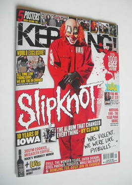 <!--2011-10-15-->Kerrang magazine - Slipknot cover (15 October 2011 - Issue