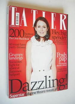 <!--2008-12-->Tatler magazine - December 2008 - Julianne Moore cover