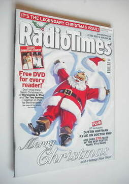 <!--2007-12-22-->Radio Times magazine - Merry Christmas cover (22 December