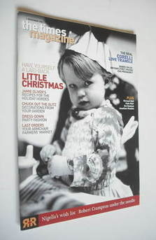 The Times magazine - Have Yourself A Laid-Back Little Christmas cover (1 December 2001)