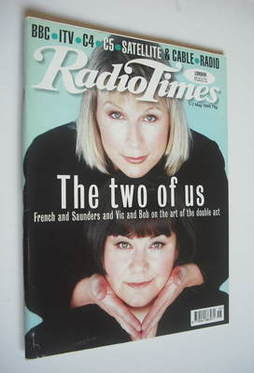 <!--1999-05-01-->Radio Times magazine - Dawn French and Jennifer Saunders c