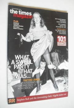 <!--2001-11-24-->The Times magazine - What A Swell Party That Was... cover (24 November 2001)