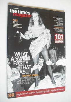 <!--2001-11-24-->The Times magazine - What A Swell Party That Was... cover