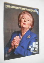 <!--2004-03-21-->The Sunday Times magazine - Margaret Thatcher cover (21 Ma