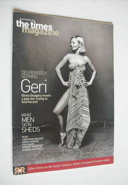 <!--2002-09-28-->The Times magazine - Geri Halliwell cover (28 September 20