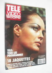 Tele Video Scope magazine - Romy Schneider cover (29 September - 5 October