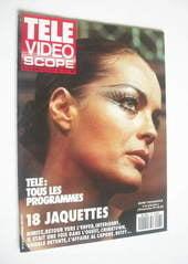 Tele Video Scope magazine - Romy Schneider cover (29 September - 5 October 1990)