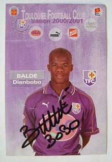 Dianbobo Balde autograph