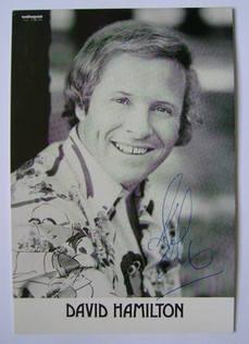 David Hamilton autograph - signed photo