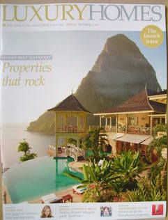 Luxury Homes magazine supplement - Launch Issue (Issue 1 - 1 October 2011)