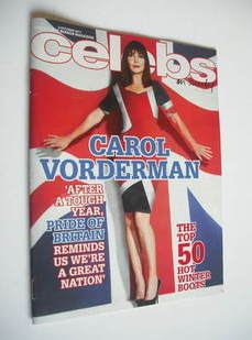 Celebs magazine - Carol Vorderman cover (2 October 2011)