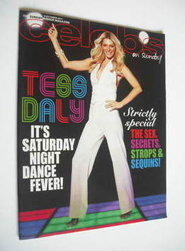 <!--2011-10-09-->Celebs magazine - Tess Daly cover (9 October 2011)