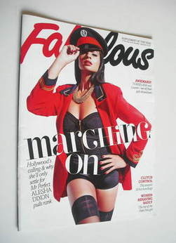 <!--2011-09-24-->Fabulous magazine - Alesha Dixon cover (24 September 2011)