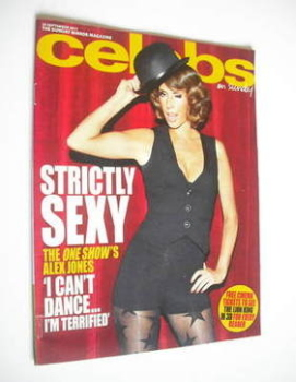 Celebs magazine - Alex Jones cover (25 September 2011)