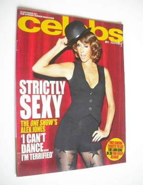 <!--2011-09-25-->Celebs magazine - Alex Jones cover (25 September 2011)