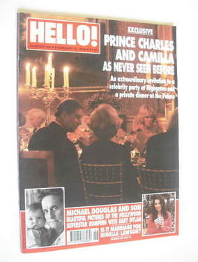 <!--2002-02-12-->Hello! magazine - Prince Charles and Camilla cover (12 Feb