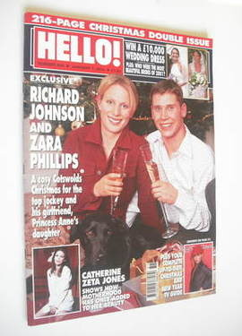 <!--2002-01-01-->Hello! magazine - Zara Phillips and Richard Johnson cover