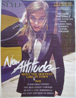 <!--2011-09-18-->Style magazine - New Attitude cover (18 September 2011)