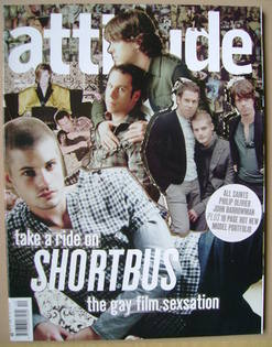<!--2006-12-->Attitude magazine - Shortbus cover (December 2006 - Issue 152