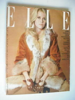 French Elle magazine - 4 November 1965 - Jane Fonda cover