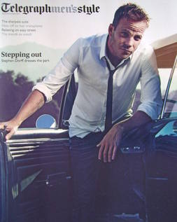 Telegraph Style magazine - Stephen Dorff cover (Autumn/Winter 2011)