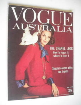 Australian Vogue magazine - Early Winter 1962