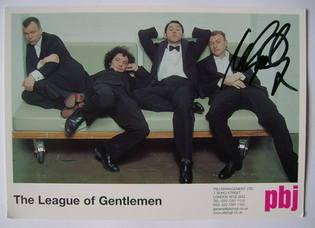 Mark Gatiss autograph