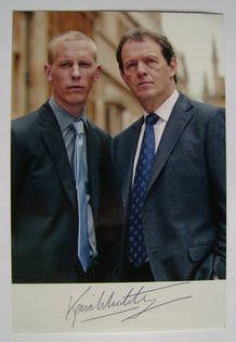 Kevin Whately autographed photo