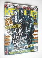 <!--2011-10-29-->Kerrang magazine - Black Veil Brides cover (29 October 2011 - Issue 1387)