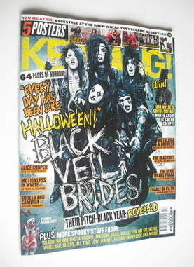 <!--2011-10-29-->Kerrang magazine - Black Veil Brides cover (29 October 201