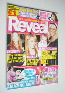 <!--2006-05-20-->Reveal magazine - Geri Halliwell, Madonna and Britney Spea