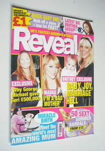 Reveal magazine - Geri Halliwell, Madonna and Britney Spears cover (20-26 May 2006)