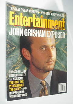 Entertainment Weekly magazine - John Grisham cover (1 April 1994)