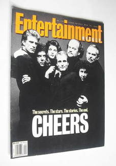 <!--1993-05-14-->Entertainment Weekly magazine - Cheers cover (14 May 1993)