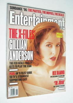 Entertainment Weekly magazine - Gillian Anderson cover (9 February 1996)
