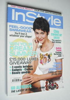 British InStyle magazine - June 2006 - Audrey Tautou cover
