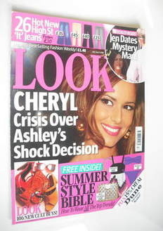 Look magazine - 28 April 2008 - Cheryl Cole cover