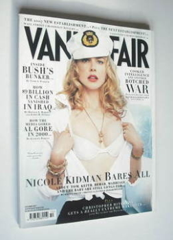 Vanity Fair magazine - Nicole Kidman cover (October 2007)