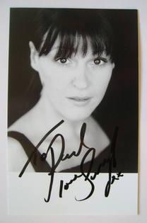 Suranne Jones autograph