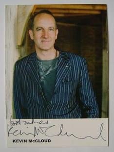 Kevin McCloud autograph