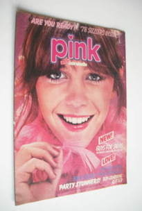 Pink magazine - 31 December 1977 - Leslie Ash cover