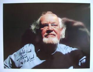 Joss Ackland autographed photo
