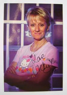 Victoria Alcock autograph