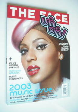 <!--2003-10-->The Face magazine - Beyonce Knowles cover (October 2003)
