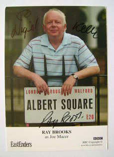 Ray Brooks autograph