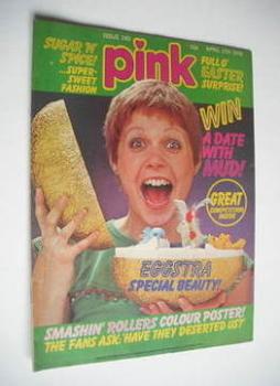 Pink magazine - 17 April 1976 - Julie Peasgood cover