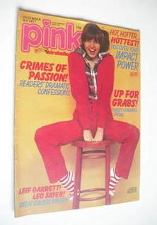Pink magazine - 3 December 1977