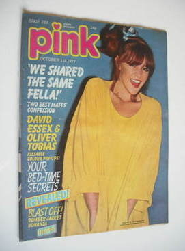 Pink magazine - 1 October 1977 - Leslie Ash cover