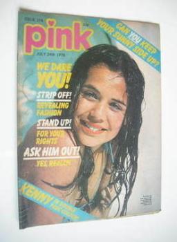 Pink magazine - 24 July 1976
