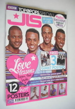 Top Of The Pops magazine - JLS cover (November 2011 - Special Edition)